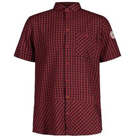 Maloja EicheM. 1/2 SS T-shirt Herrer, rød